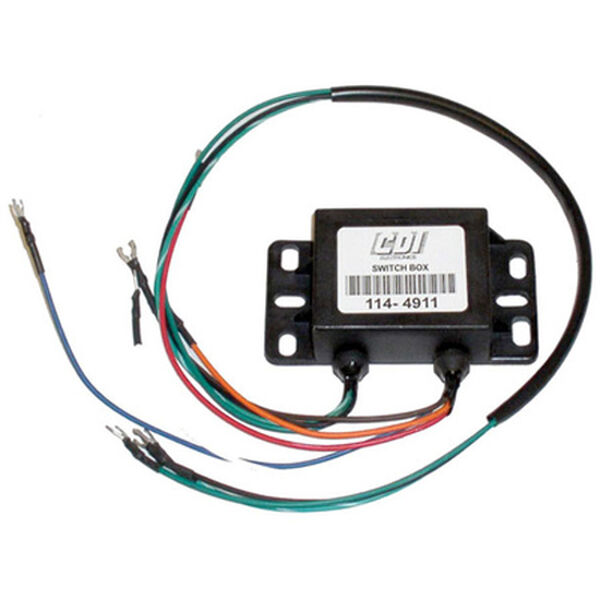 CDI Mercury Switch Box, Replaces 332-4911A2/5/6