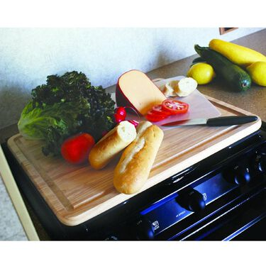 Camco Hardwood Stove Topper/Cutting Board