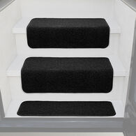 "Prest-O-Fit Decorian 8"" x 23.5"" Step Hugger for RV Landings, Obsidian Black, Each"