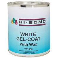 Hi-Bond White Gel Coat With Wax, Quart
