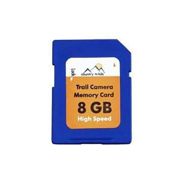 Country Trails 8GB Trail Camera SD Memory Card, Single Pack