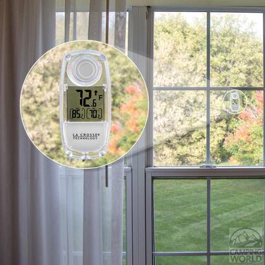 Solar Window Thermometer