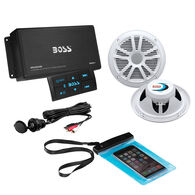 Boss Audio ASK904B.64 Bluetooth Amplifier With Two Speakers