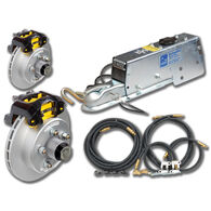 "Tie-Down 12"" Vented Rotor Disc Brakes Complete Kit With Vortex Hub"