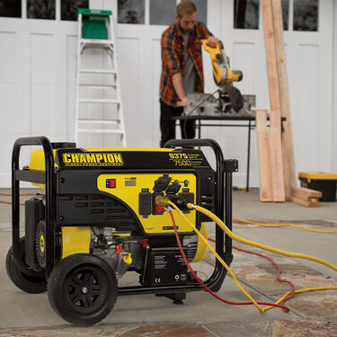Champion 7500-Watt Portable Generator with Electric Start