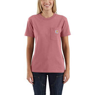 Carhartt Women's Workwear Short-Sleeve Pocket Tee