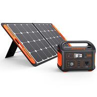 Jackery Explorer 550 Outdoor Portable Power Station and SolarSaga 100-Watt Solar Panel