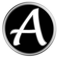 """Tumbler Decal – """"A"""""""