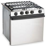 "Dometic Atwood Stainless Steel 3-Burner Ranges, 21"" Range"