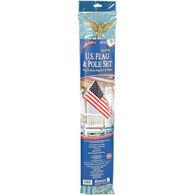 Annin 3' x 5' Polycotton American Flag Kit