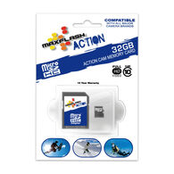 MaxFlash Action MicroSD Memory Card, 32GB