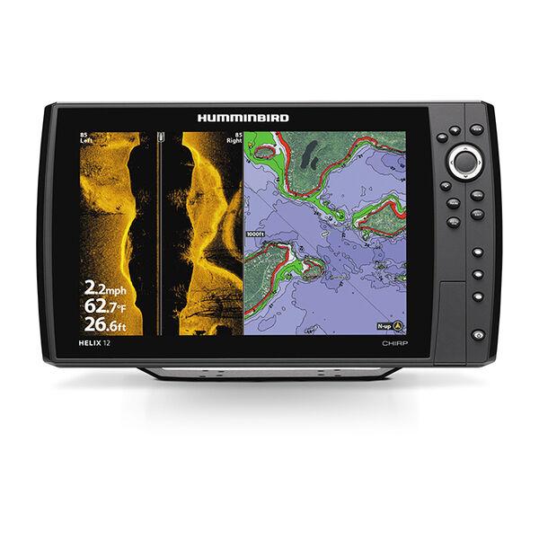 Humminbird Helix 12 CHIRP Mega SI+ GPS G4N Fishfinder Chartplotter