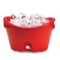"20 Qt. Party Bucket, 20"" x 18"" Red"