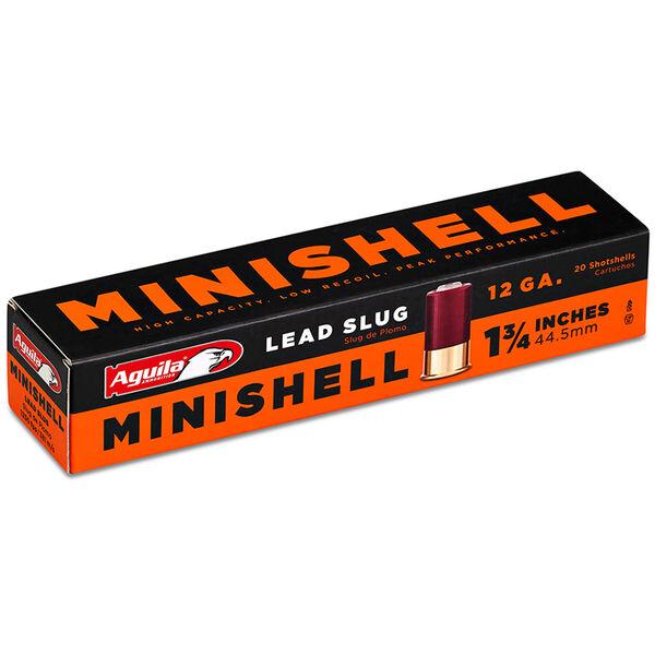 "Aguila Minishell Shotshells, 12-ga., 1-3/4"", 5/8-oz., Slug"