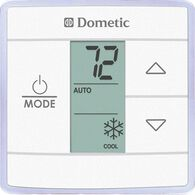 Dometic Capacity Touch Thermostat with Control Kit, Cool/Furnace, White