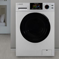 Equator 18 lbs Combination Washer Dryer, White