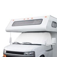 Overdrive RV Windshield Cover with Cutouts - Dodge Sprinter, White
