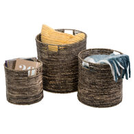Honey Can Do Coastal Collection Nesting Geo Baskets, Set of 3