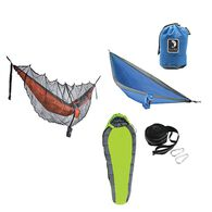 Tribe Provisions Adventure Hammock Kit, Green/Blue