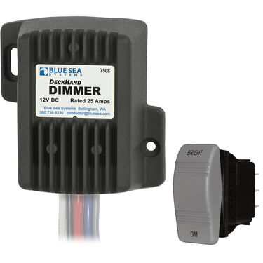 Blue Sea Systems DeckHand Dimmer, 12V DC 25A