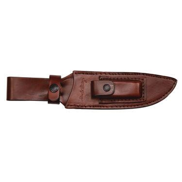 Uncle Henry Fixed Blade Knife with Leather Sheath & Sharpener