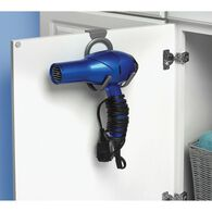 Over-the-Cabinet Door Hair Dryer Hook