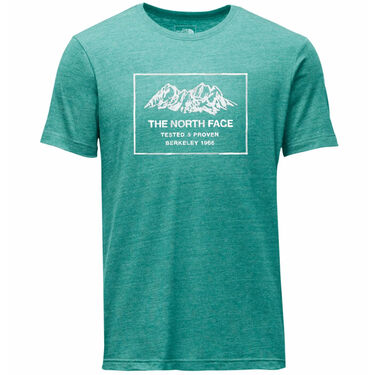 The North Face Men's Shaped Tri-Blend Short-Sleeve Tee
