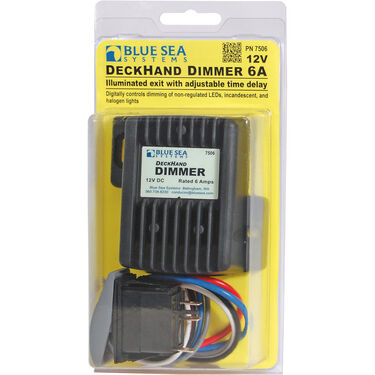 Blue Sea Systems DeckHand Dimmer, 24V DC 12A