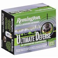 Remington Ultimate Defense Ammo, .38 Special +P, 125 Gr., BJHP