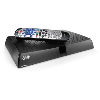 DISH® ViP 211z Pay-As-You-Go Satellite Receiver, Refurbished