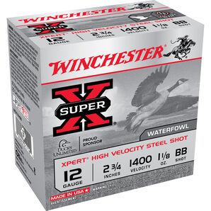 "Winchester Xpert Hi-Velocity Steel Shotshells, 12-ga., 2-3/4"", 1-1/8 oz., BB"