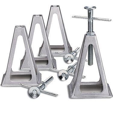 Aluminum Stack Jacks, Set of 4