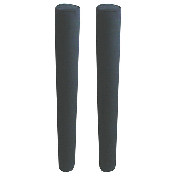 """Capped Heavy-Duty Trailer Guide Pads, 48"""" long"""