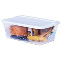 Sterilite See-Through Storage Box, 6-Quart