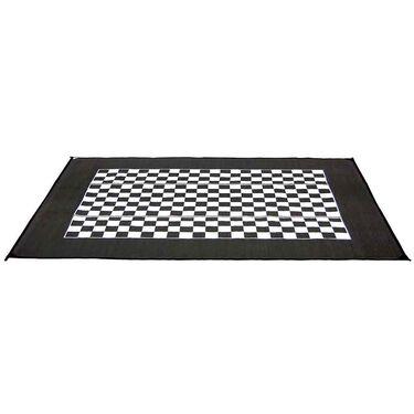 Checkered Flag Design Patio Mat