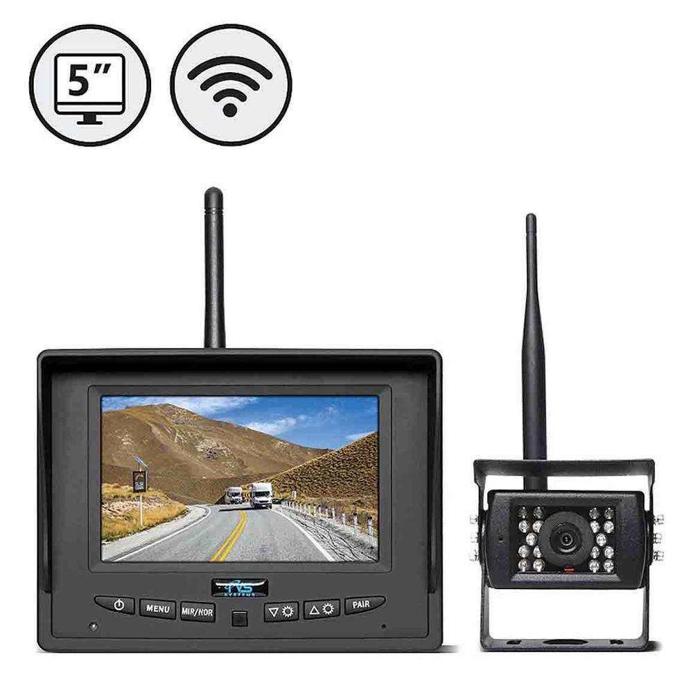 Wireless Backup Camera >> Rvs Systems Digital Wireless Backup Camera System With 5 Led Monitor