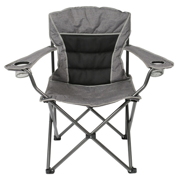 Big Comfort Deluxe Chair, Black/Gray