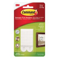Command™ Picture Hanging Strips, 4-pack, Medium