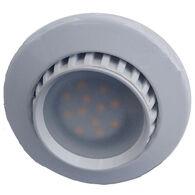 FriLight Comet R Adjustable Recess 12 volt LED Ceiling Light, White Frame and Warm White LED