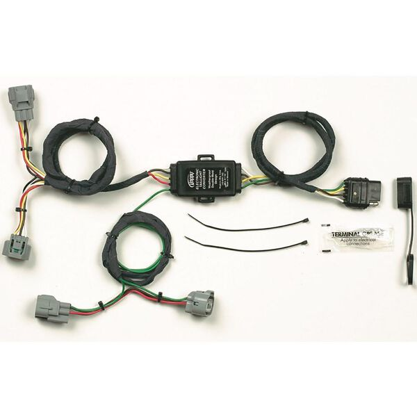 Plug-In Simple! Towing Vehicle Wiring Kit for Toyota, 4-Way Flat