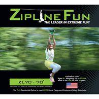 Adventure Parks Zipline 70, Green