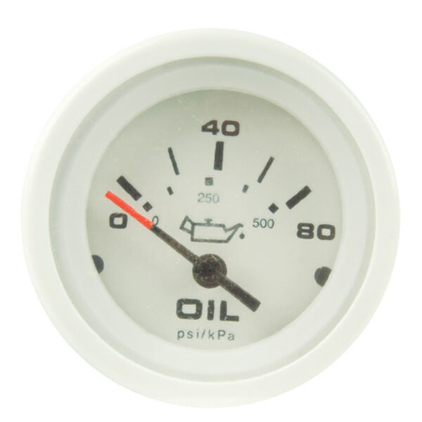 """Sierra Arctic 2"""" Oil Pressure Gauge"""