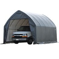 SUV/Truck Shelter, 13 × 20 × 12, Gray Cover