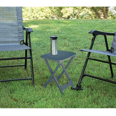 Quik-Fold Tag Along Table, Charcoal