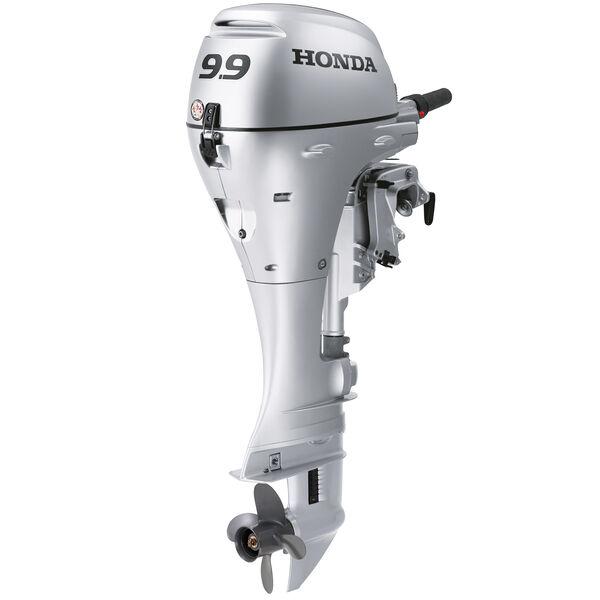 "Honda BFP9.9 Power Thrust Portable Outboard Motor, Manual Start 9.9 HP 25"" Shaft"