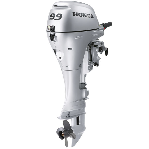 "Honda BFP9.9 Power Thrust Portable Outboard Motor, Electric Start 9.9HP 20""Shaft"