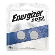 Energizer 2032 3V Lithium Coin Battery, 2-pack