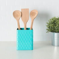 Home Basics Tin Utensil Holder