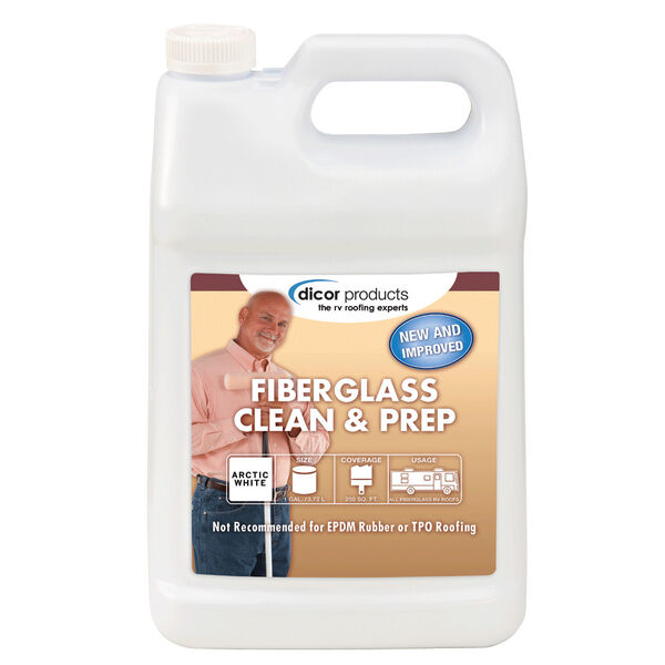 Fiberglass Clean and Prep