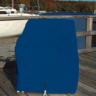 """Ripstop Polyester Single Deck Chair Cover, Navy Blue (29""""H x 26""""W x 29.5""""D)"""
